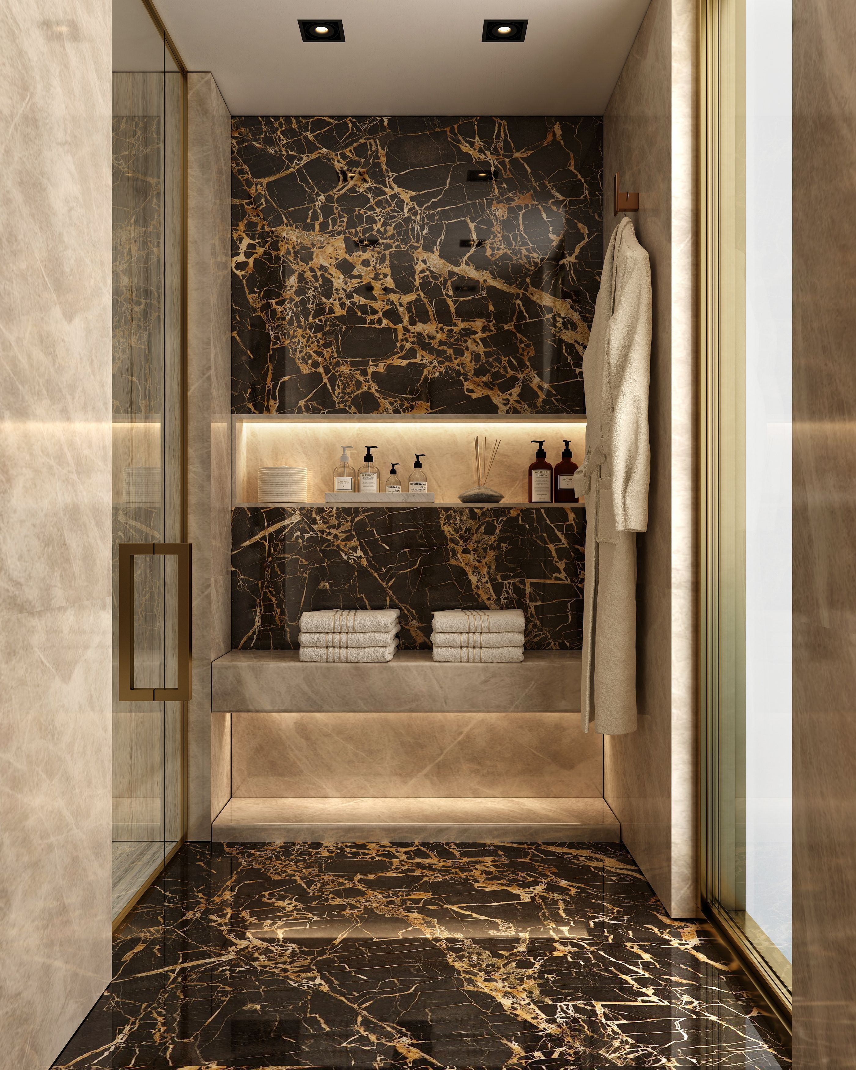 Make Your Bathroom Your Personal Spa Or Find Inspiring Luxury Bathroom Ideas Here Be Inspire Bathroom Inspiration Modern Glamorous Bathroom Luxury Bathroom
