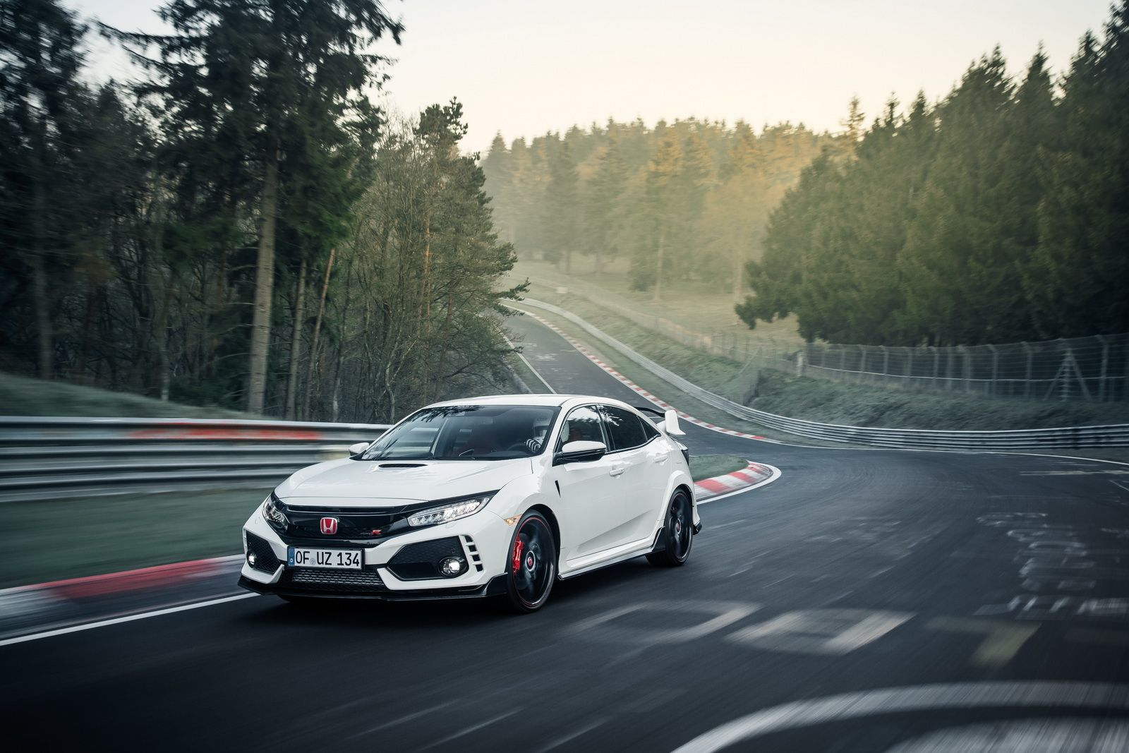 Someone Tried Selling Their 2018 Honda Civic Type R Spot For 85k