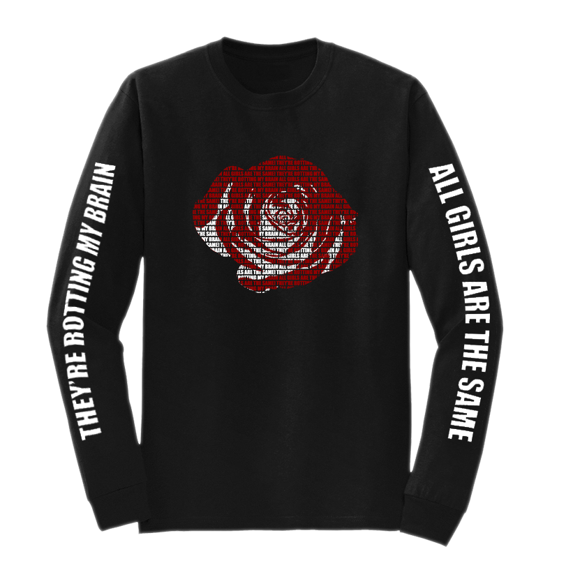 Juice Wrld All Girls Are The Same Long Sleeve Black Sleeves Long Sleeve Black Long Sleeve