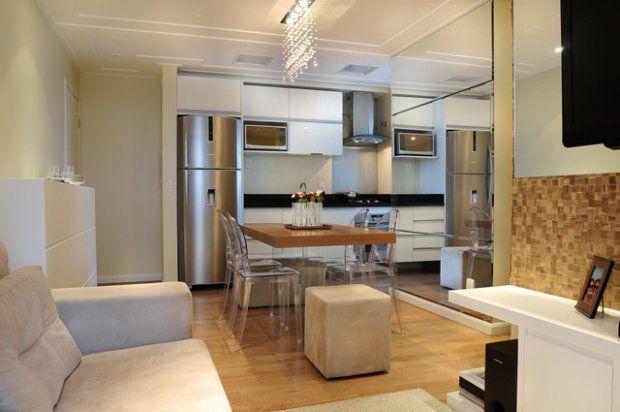 Arquitetos ensinam como decorar apartamentos com metragem for Como decorar un apartamento de 45 metros