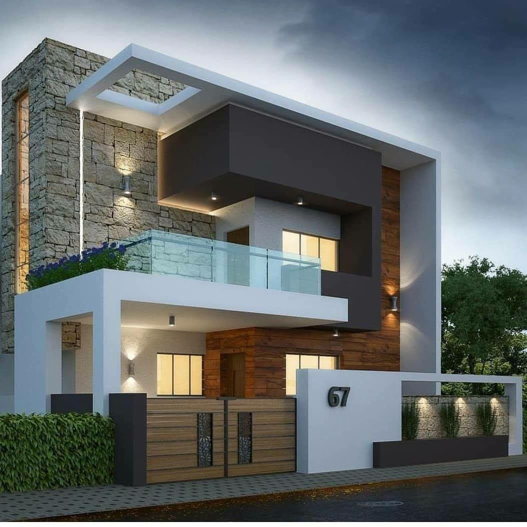 Pin By Lexi On Modern House Design Modern Exterior House Designs Duplex House Design Small House Elevation Design