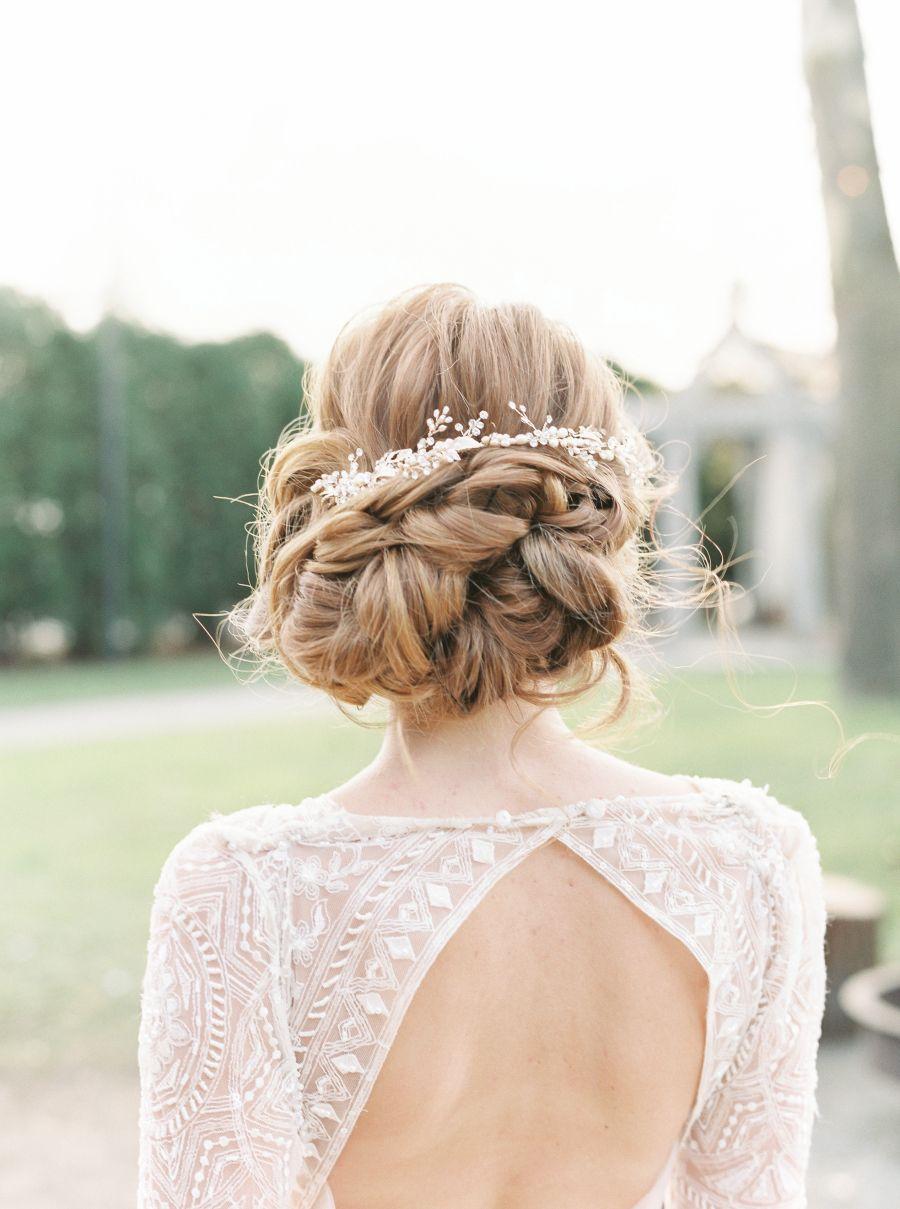 18 schöne Braut-Hochsteckfrisuren müssen Sie beachten!  a382d9a50431