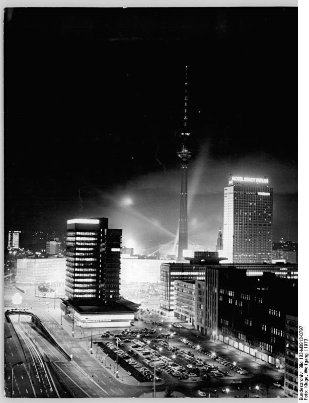 Berlin Alexanderplatz Nacht