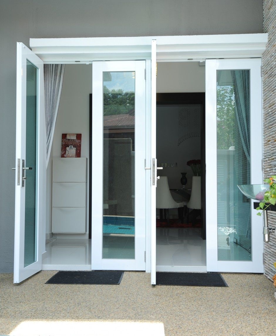 Aluminum door design photo door design pinterest for Aluminum sliding glass doors