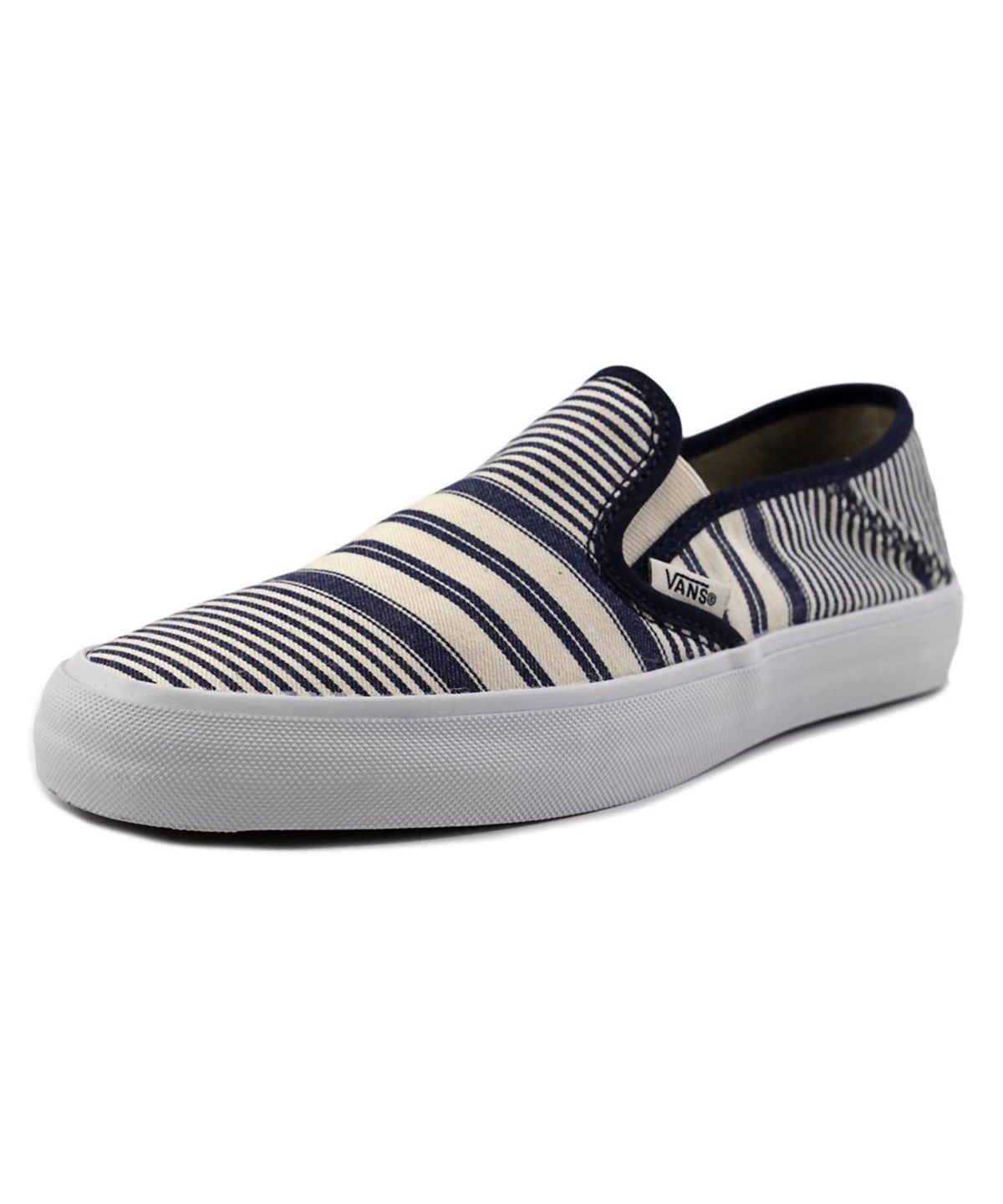 b1ddd57c14a060 VANS VANS SLIP-ON SF ROUND TOE CANVAS FLATS .  vans  shoes  loafers ...