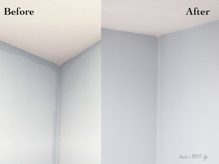 Uneven Wall Paint Color And How To Fix It Anika S Diy Life Wall Paint Colors Interior Wall Paint Wall Painting