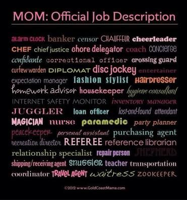 Funny Stay At Home Mom Job Description - Google Search | Things To
