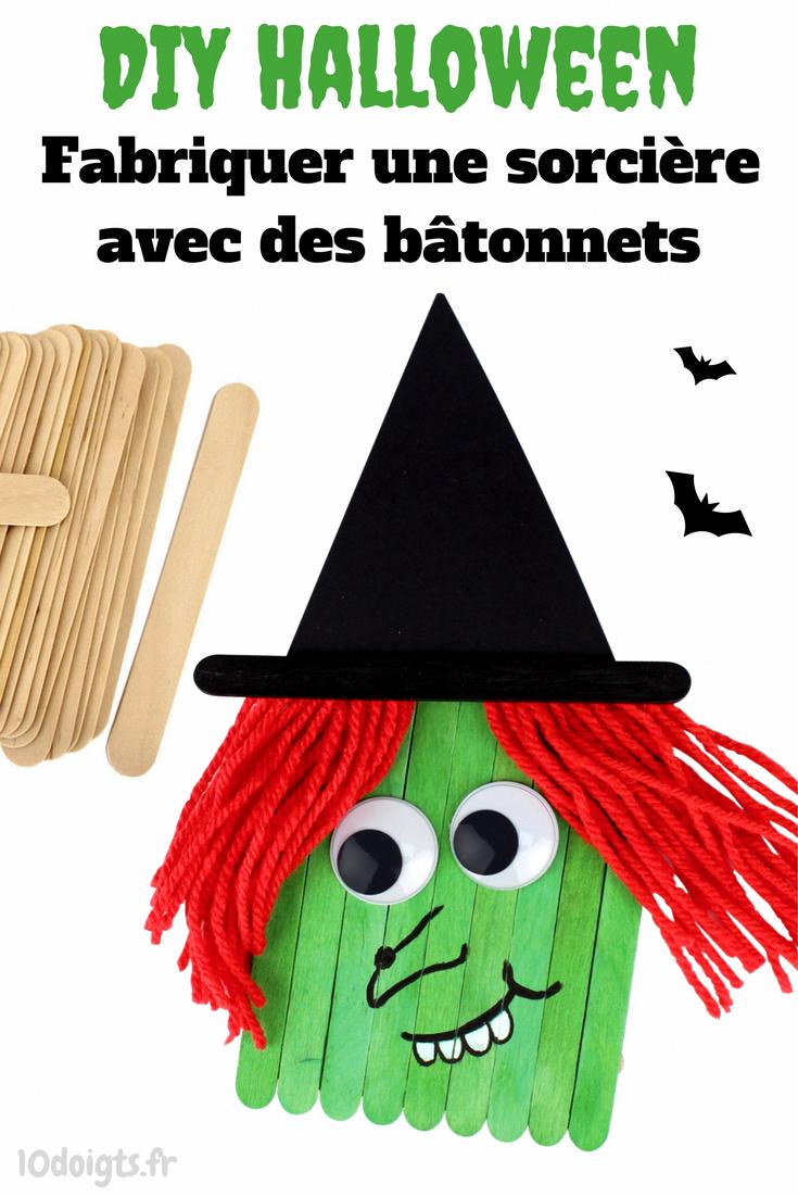 Découvrez un bricolage d'Halloween facile pour les enfants consistant à créer une petite sorcière à partir de bâtonnets de glace en bois. #idéebricolagefacile,bricolagedecoration,idéebricolagebois,bricolagedecorationfacile,idéebricolagemaison,bricolagedecorationafairesoimeme,bricolagefacileenpapier,bricolagefacileenfant,bricolagefacilenoel,petitbricolagefacile,bricolagemaisonfacile,bricolagedecorationdenoel,bricolagefacileafaire,petitbricolagedeco #noel2019decopourenfant