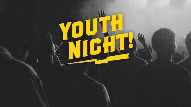 Free-Worship-Youth-Night-church-announcement-slide Church Church