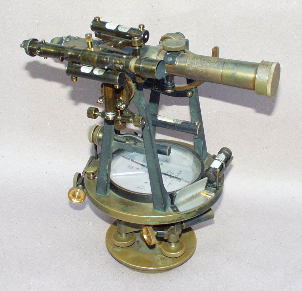 antique surveying instruments c l berger amp sons solar