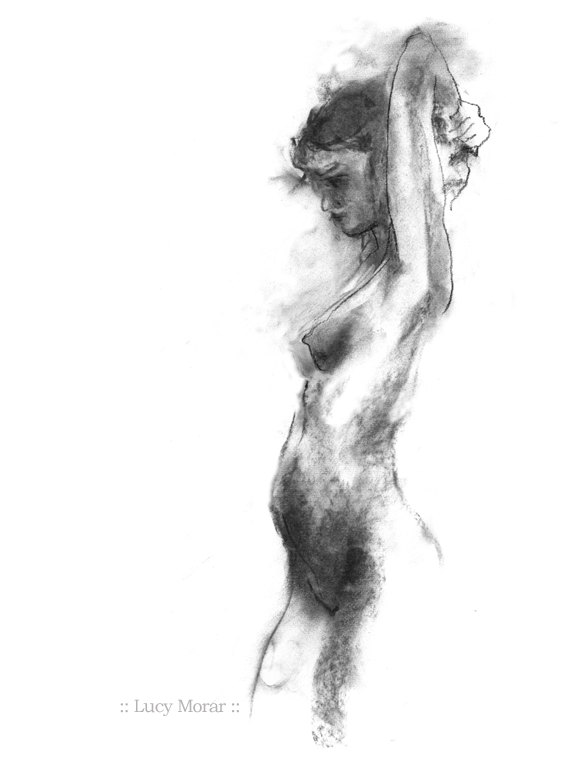 Phrase nude figure sketch