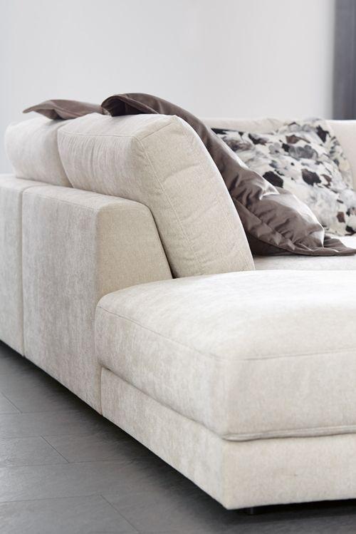 Das Sofa Natura Pasadena ist hochwertig verarbeitet - mit echt - wohnzimmer couch gemutlich