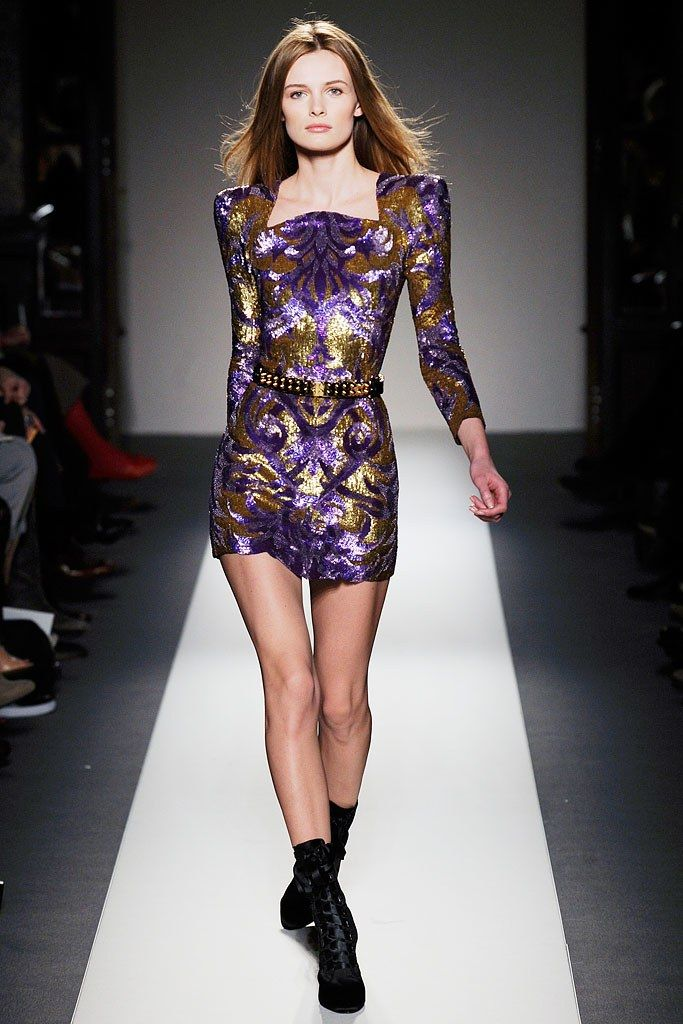 Balmain Fall 2010 Ready-to-Wear Fashion Show - Edita Vilkeviciute (Viva)
