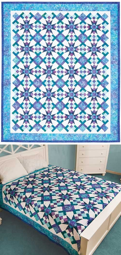 CELESTIAL MAGIC QUILT PATTERN- Product Details | Keepsake Quilting ... : magic quilt kits - Adamdwight.com