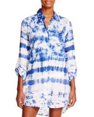 5eb9dc0b2c La Blanca Tangiers Shirt Dress Swim Cover Up | Bloomingdale's | <3 ...