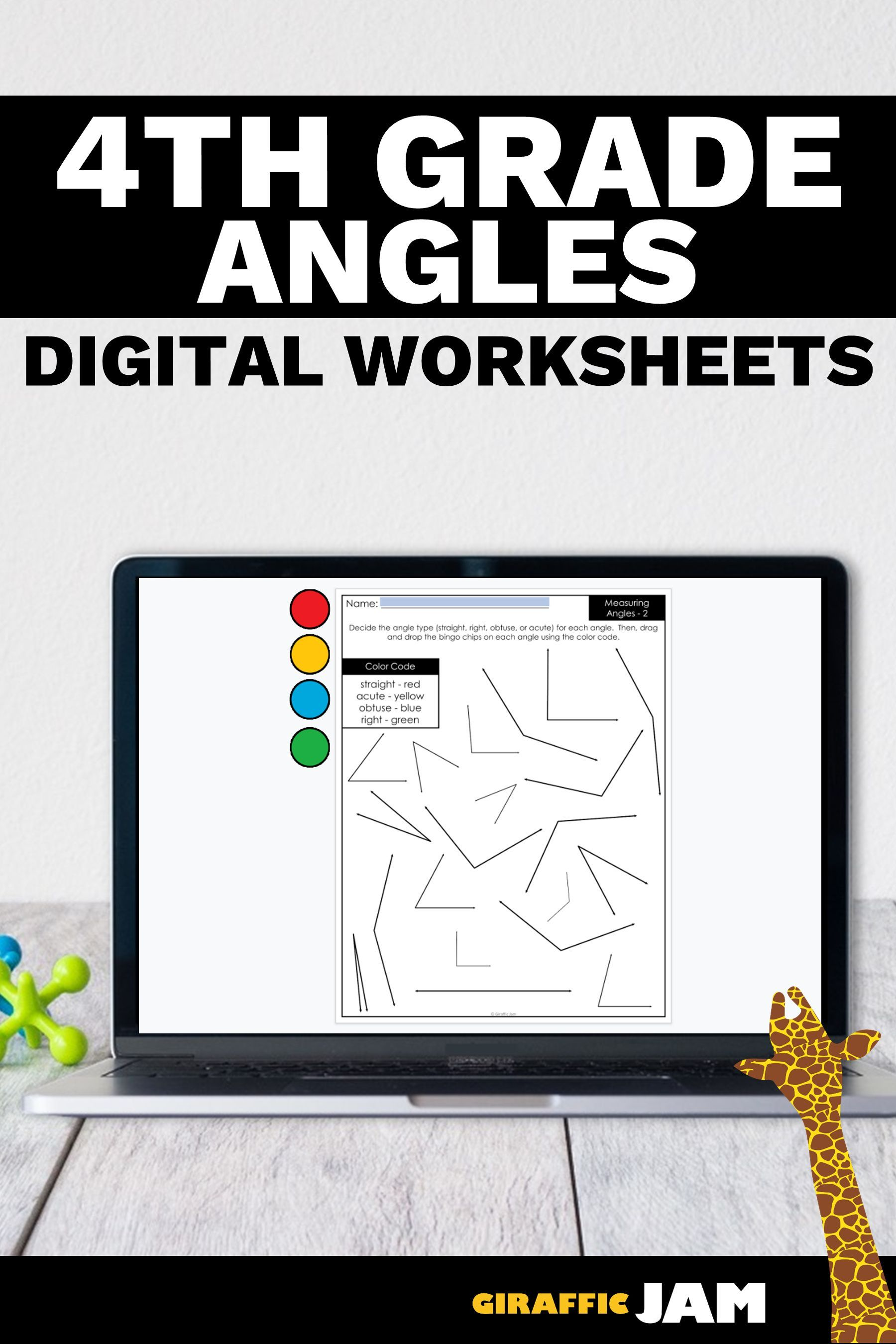 4th Grade Measurement Measurement Worksheets Angles Measuring Angles Digital Worksheets D Google Classroom Measurement Activities Distance Learning [ 2700 x 1800 Pixel ]