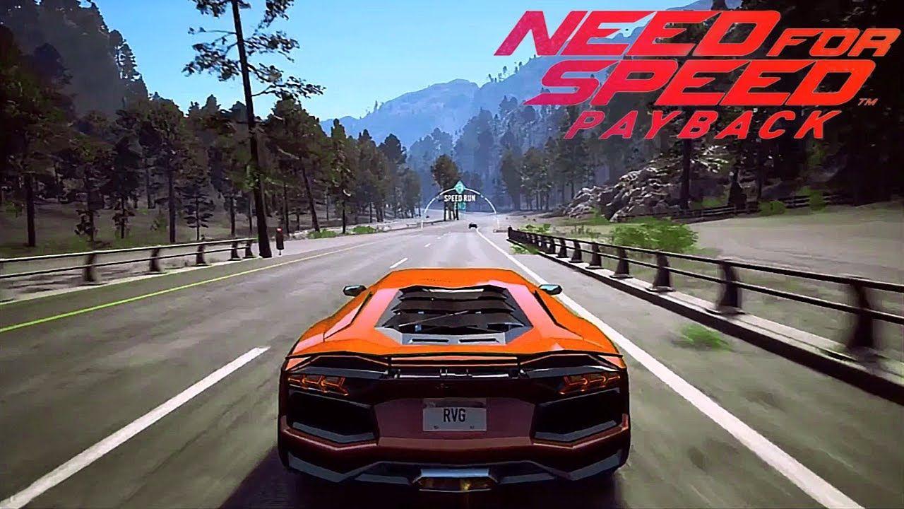 Need For Speed: Payback - Lamborghini Aventador - High speed