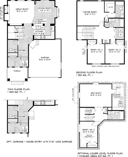 Floor plan of house for sale