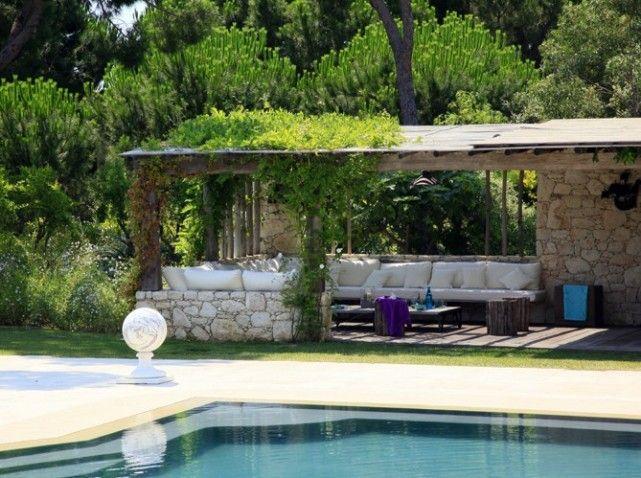 Au bout du jardin: en pierre de Bordeaux | deco | Pinterest ...