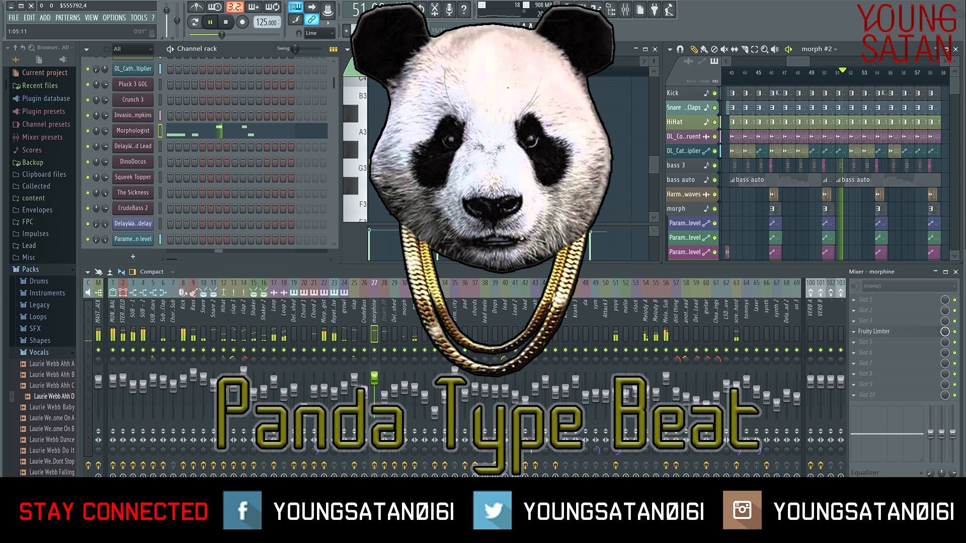 Desiigner Panda Type Beat Tutorial - [FL STUDIO 12] | Music