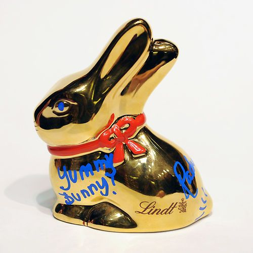 Give the gift of hope bid on a lindt gold bunny autographed by give the gift of hope bid on a lindt gold bunny autographed by rachael ray negle Image collections