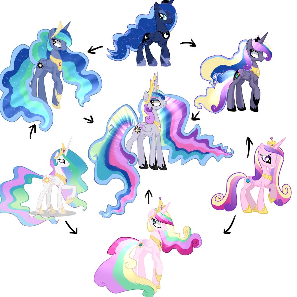 974431 artist cristle1235 fusion fusion diagram hexafusion princess cadance princess - Princesse poney ...