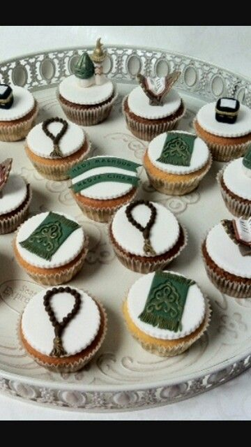 Umrah Banner: Eid Cake, Eid Cupcakes, Cupcake Cakes