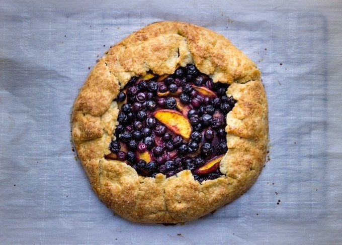 A simple rustic summer fruit pie that anyone can achieve. Multiple crust options available for everyone's preferences including traditional, gluten free, and Paleo.