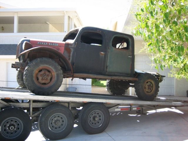 1947 dodge power wagon crew cab $3,500 [nv] 4x4 4sale dodgePictures Of The 1955 Power Wagon Crew Cab He Has Been Fabricating #5
