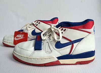 wholesale dealer 1df67 50a91 RARE Vintage 1988 Nike Air Alpha Force Low OG shoes size 9.5 whitebluered  NEW