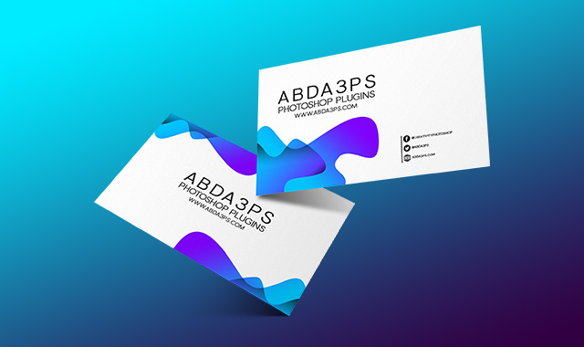 موك اب بزنس كارد Psd مجانا Business Cards Mockup Psd Business Card Mock Up Free Business Card Mockup