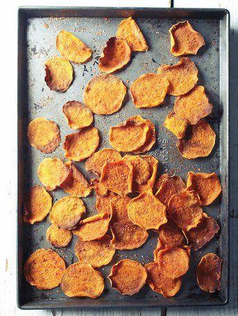 Gesunde Kartoffelchips