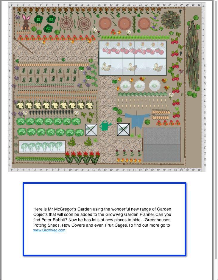 Mr Mcgregor S Garden Showing The Fantastic Range Of New Garden