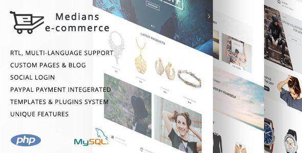 Download Medians - E-commerce PHP script for online stores