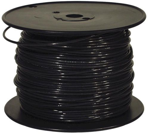 50 10 Black Solid Thhn Building Wire 10 Things Menards Electrical Wiring