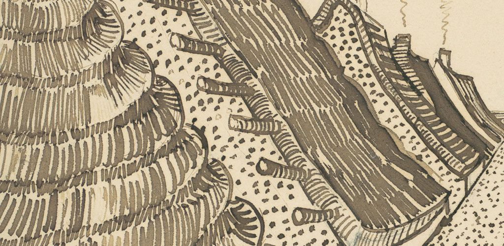 Vincent van gogh the rocks essay