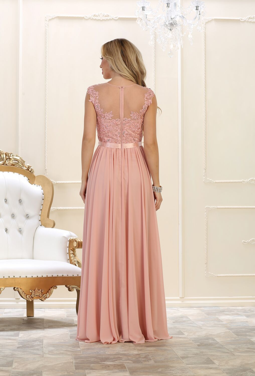 Formal long dress plus size wedding gown in products