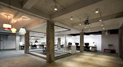 Nova Iskra Incubator Office Design