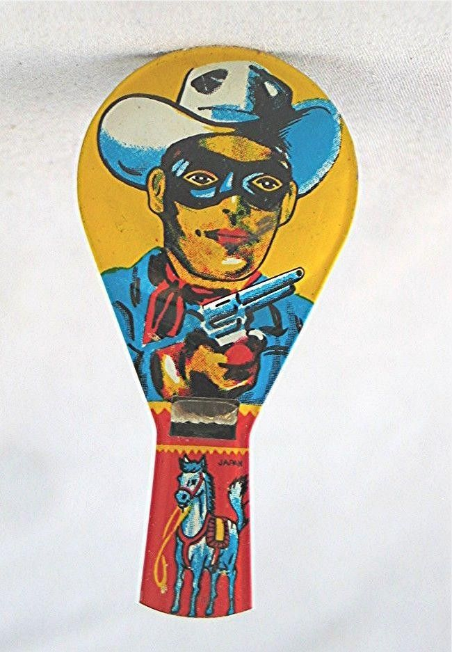 Vintage Tin Whistle Lone Ranger