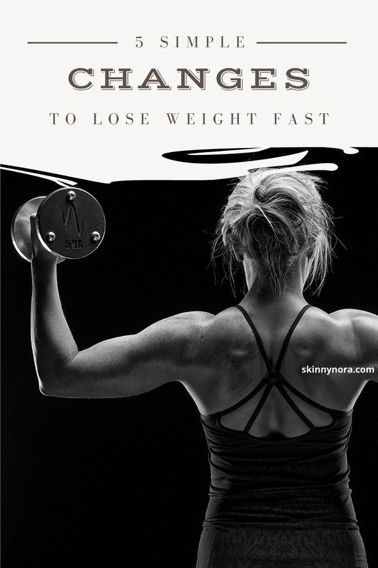 5 simple changes that will make you lose weight for good | tips to lose weight faster | best way to...