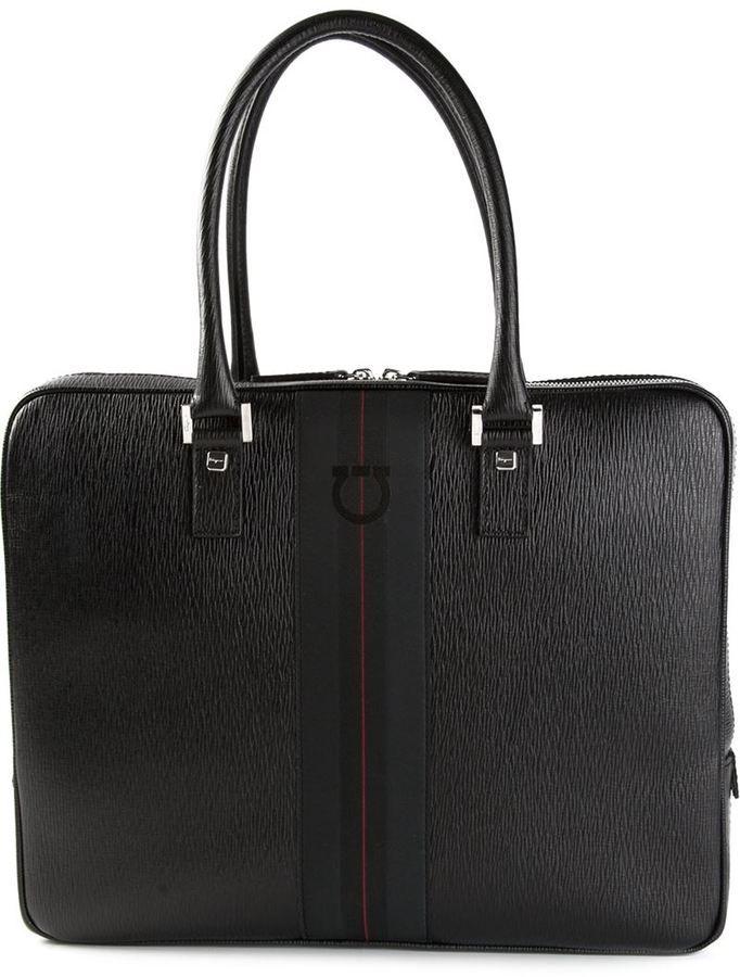 Salvatore Ferragamo branded laptop bag on shopstyle.com  38c0efe62d136