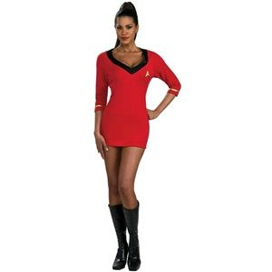 Red dress costume etc