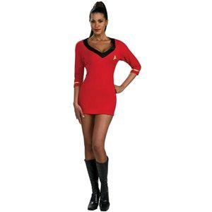 Red dress costume etc