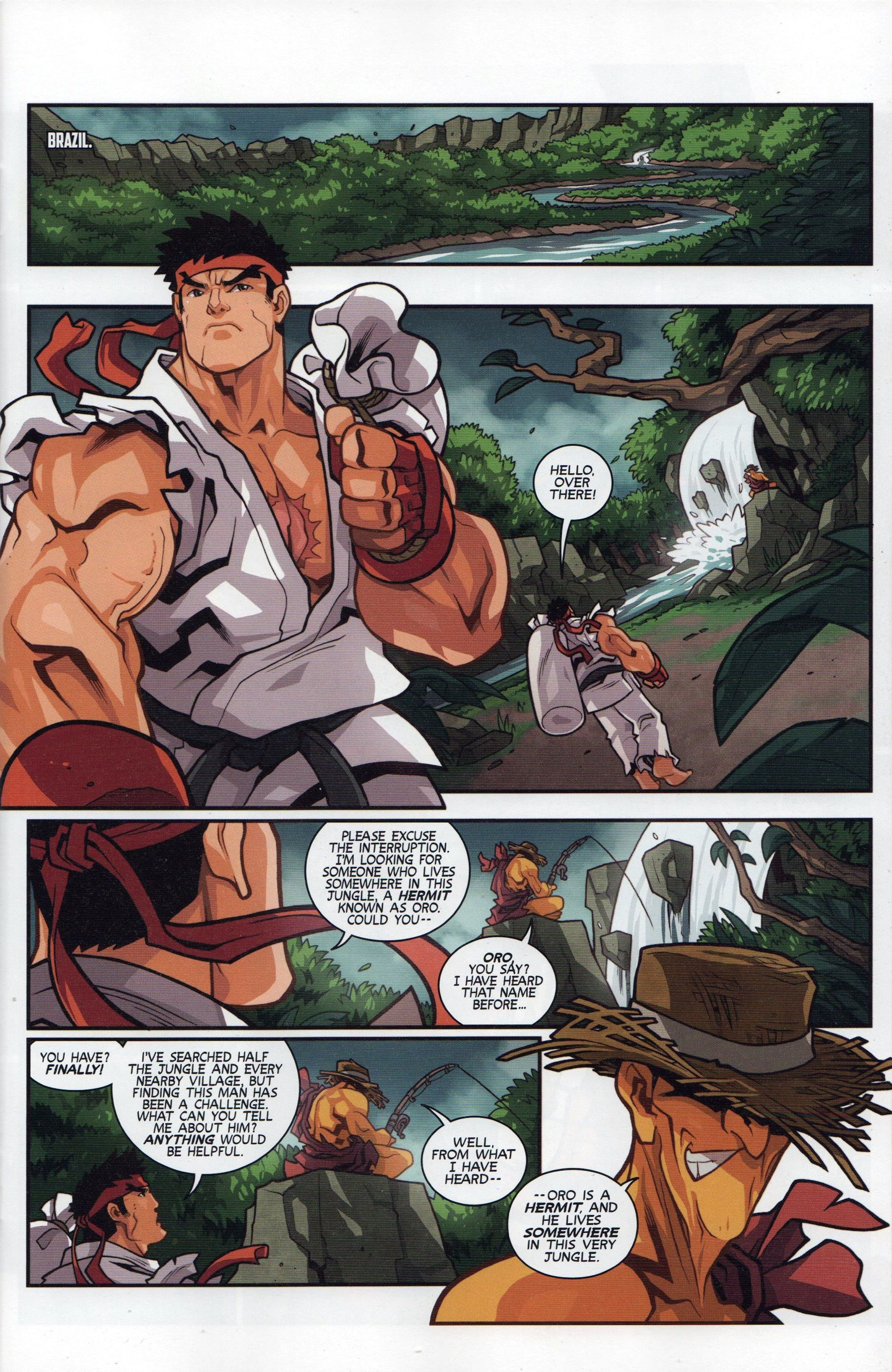 Street Fighter Unlimited Issue #5 - Read Street Fighter