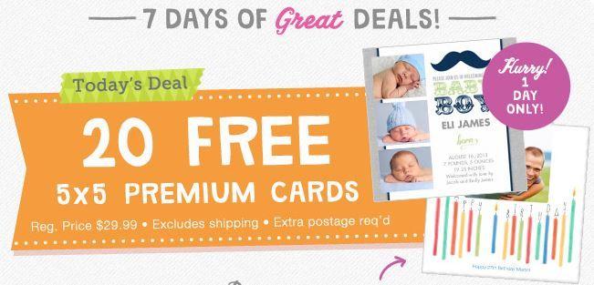 Walgreens 20 free 5x5 premium photo cards today only 8813 walgreens 20 free 5x5 premium photo cards today only 88 m4hsunfo