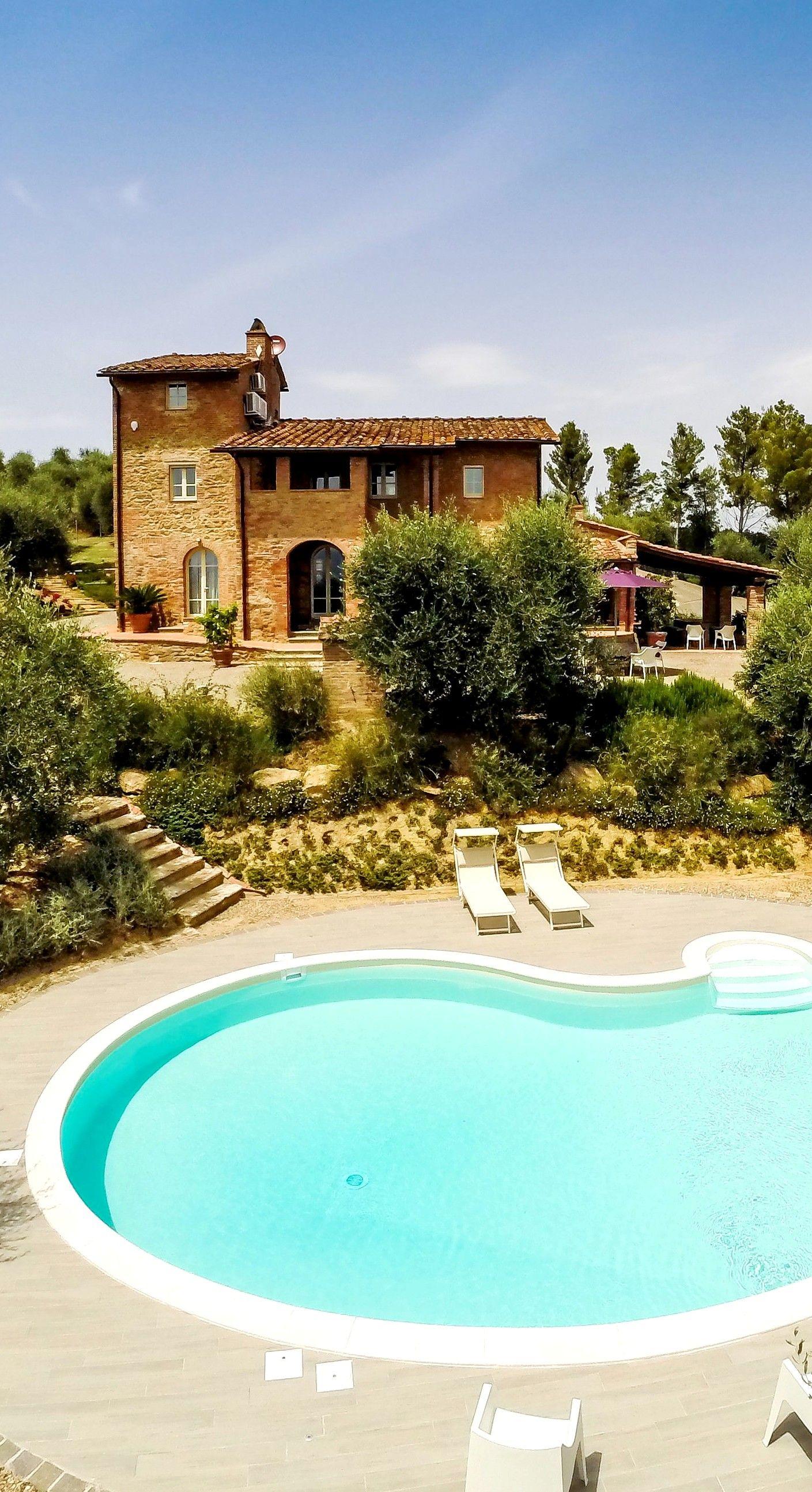 Villa Locarno, Pisa, Italien, 4 Schlafzimmer, Privater Pool, Klimaanlage 8  Personen