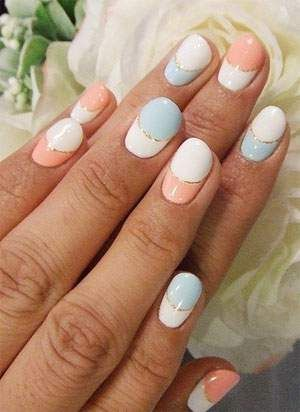 Brilliant Nail Art Ideas 2012   Sport Your Sizzling Manicure Like A Real  Trailblazer. Choose One Of These Brilliant Nail Art Ideas 2012 To Add Girly  Glamor ...