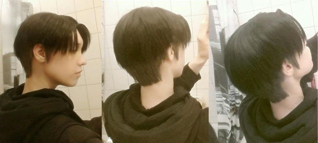 Levi Wig Test 1 (Attack on Titan Cosplay)