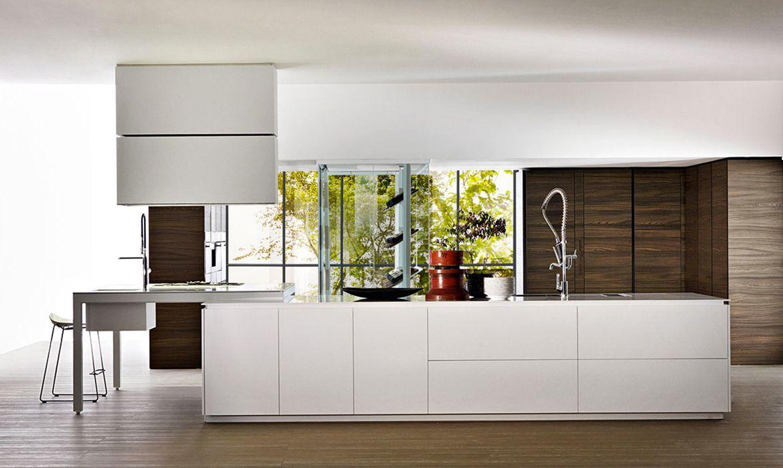 Banco Cucina Con Penisola Dal Design Moderno Cucine Dada Nel