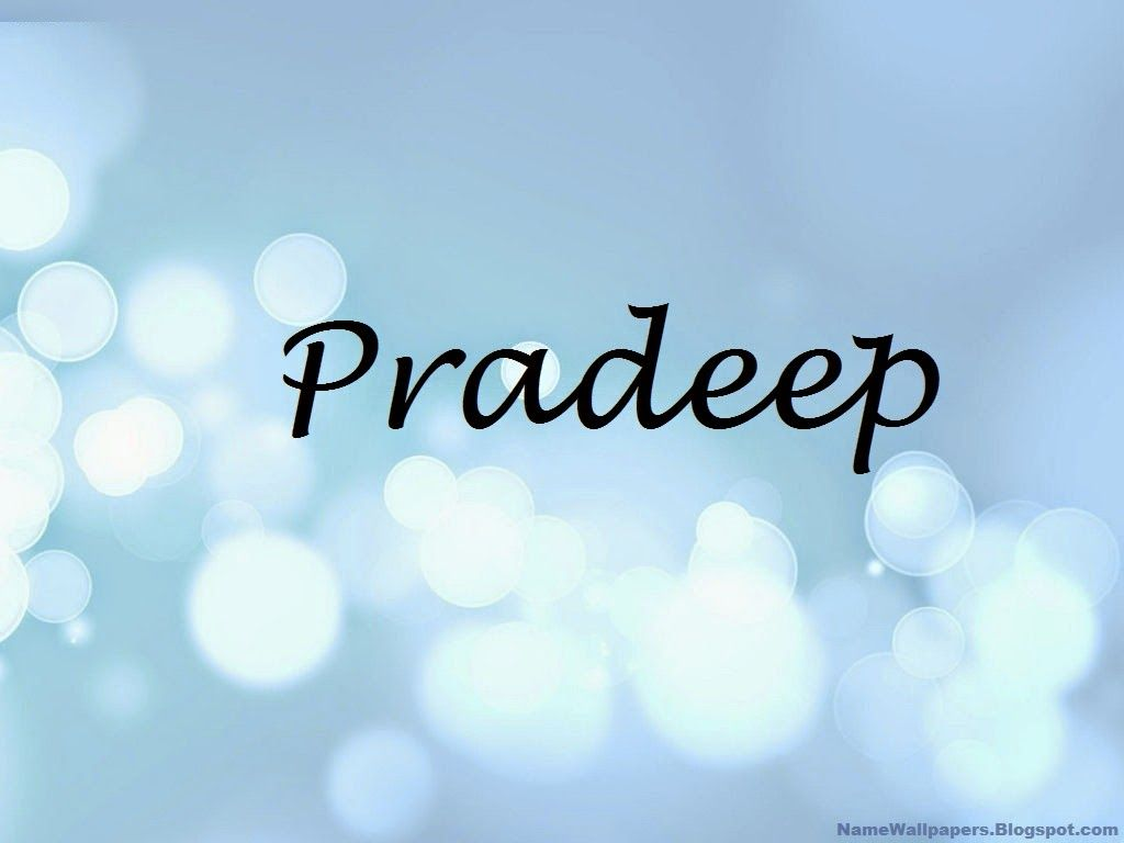 Pradeep Name Wallpapers Pradeep Name Wallpaper Urdu Name Meaning